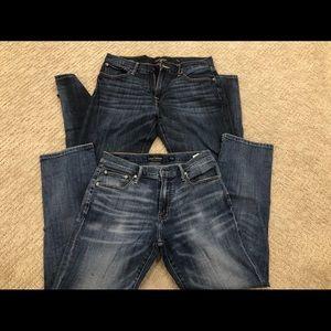 Men's lucky brand jeans sz 32/30 221 straight